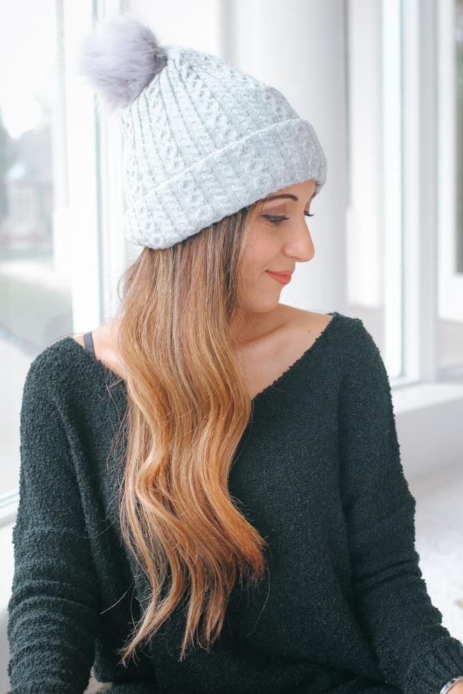 Two-in-One Hat + Scarf