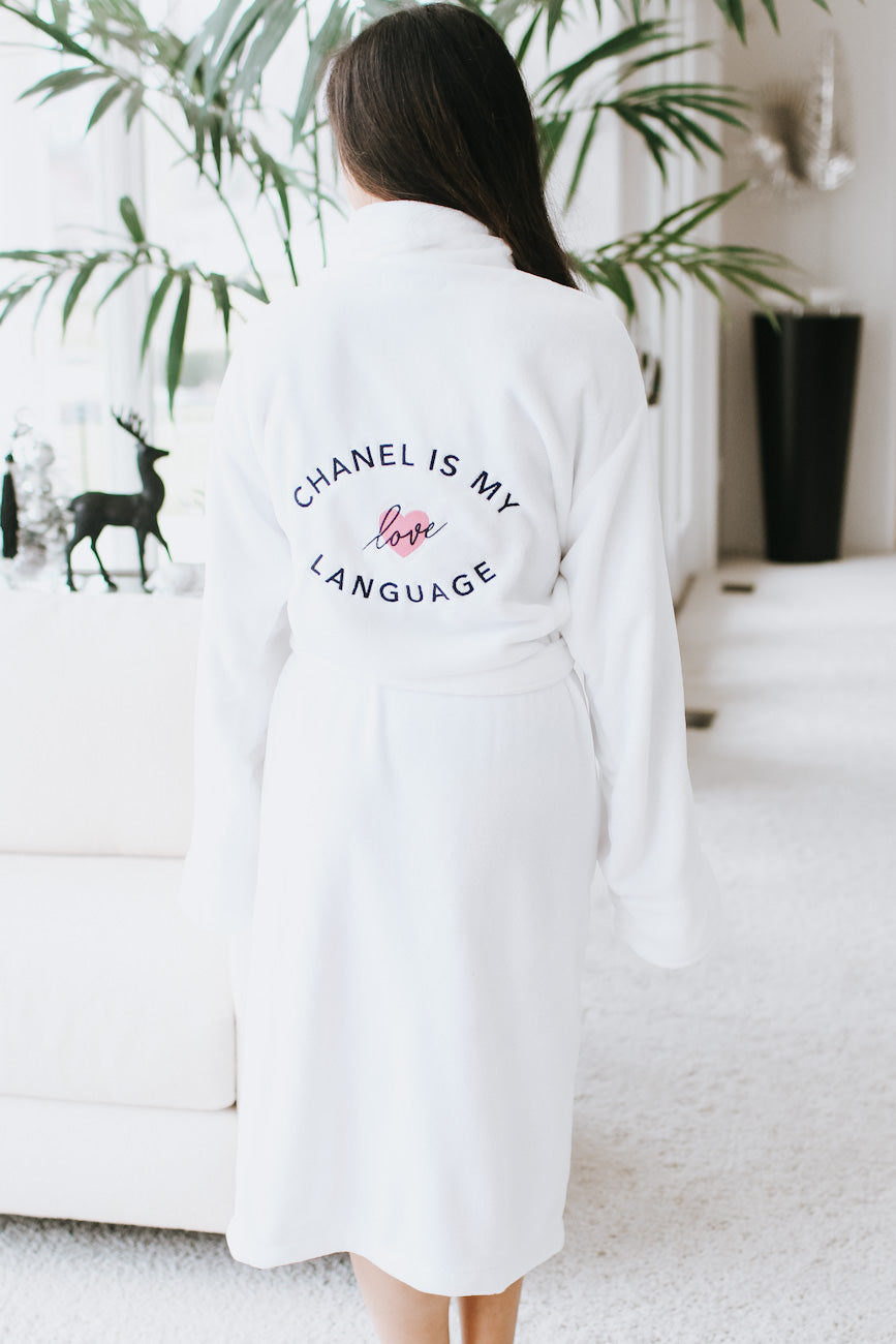 Chanel is my Love Language Robe