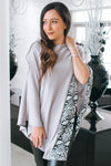Snake Strip Point Poncho