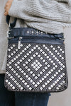 Square Stone Diamond Pattern Messenger