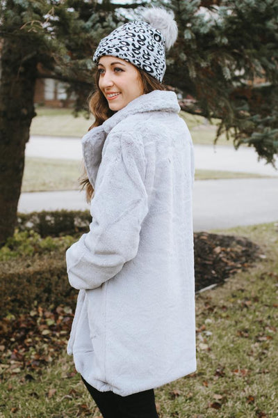 All Faux Fur Coat-Glitz & Ears Boutique