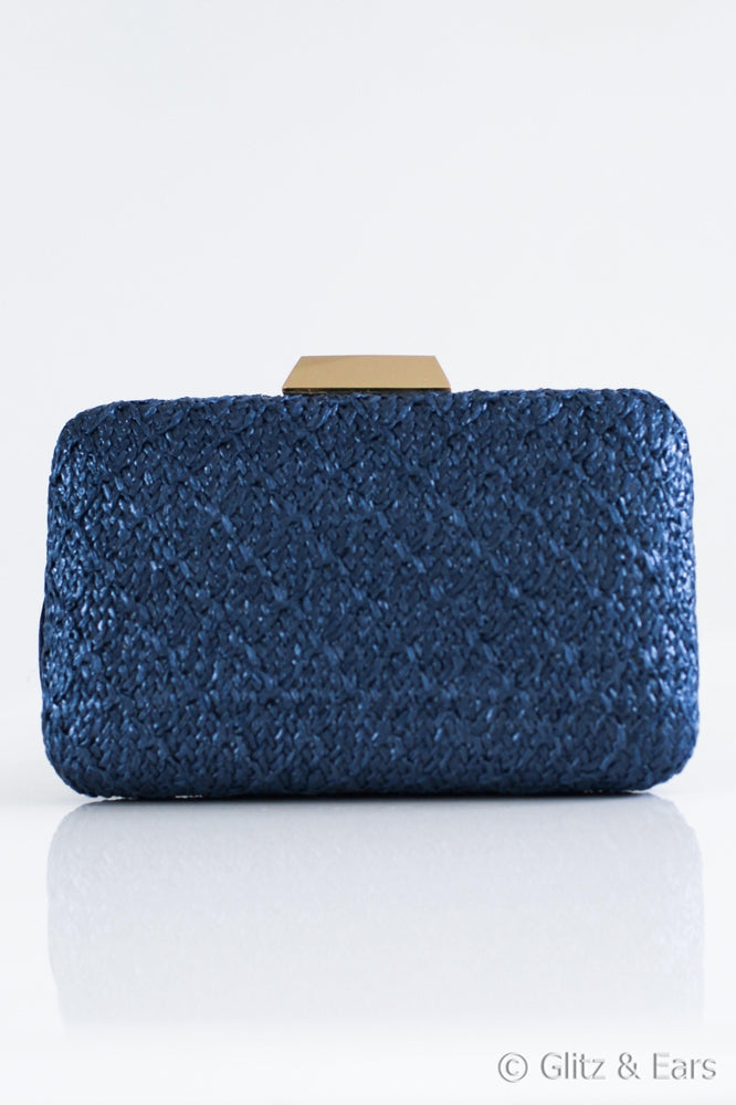 Braided Hardcase Clutch - Glitz & Ears