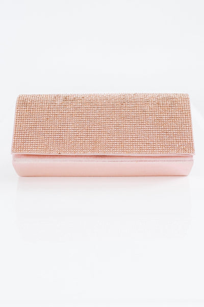 Rhinestone Flap Clutch-Glitz & Ears Boutique