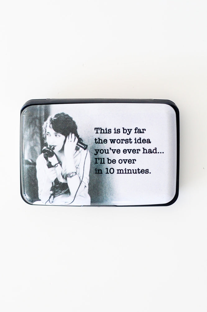 Worst Idea Ever Card Holder-Glitz & Ears Boutique