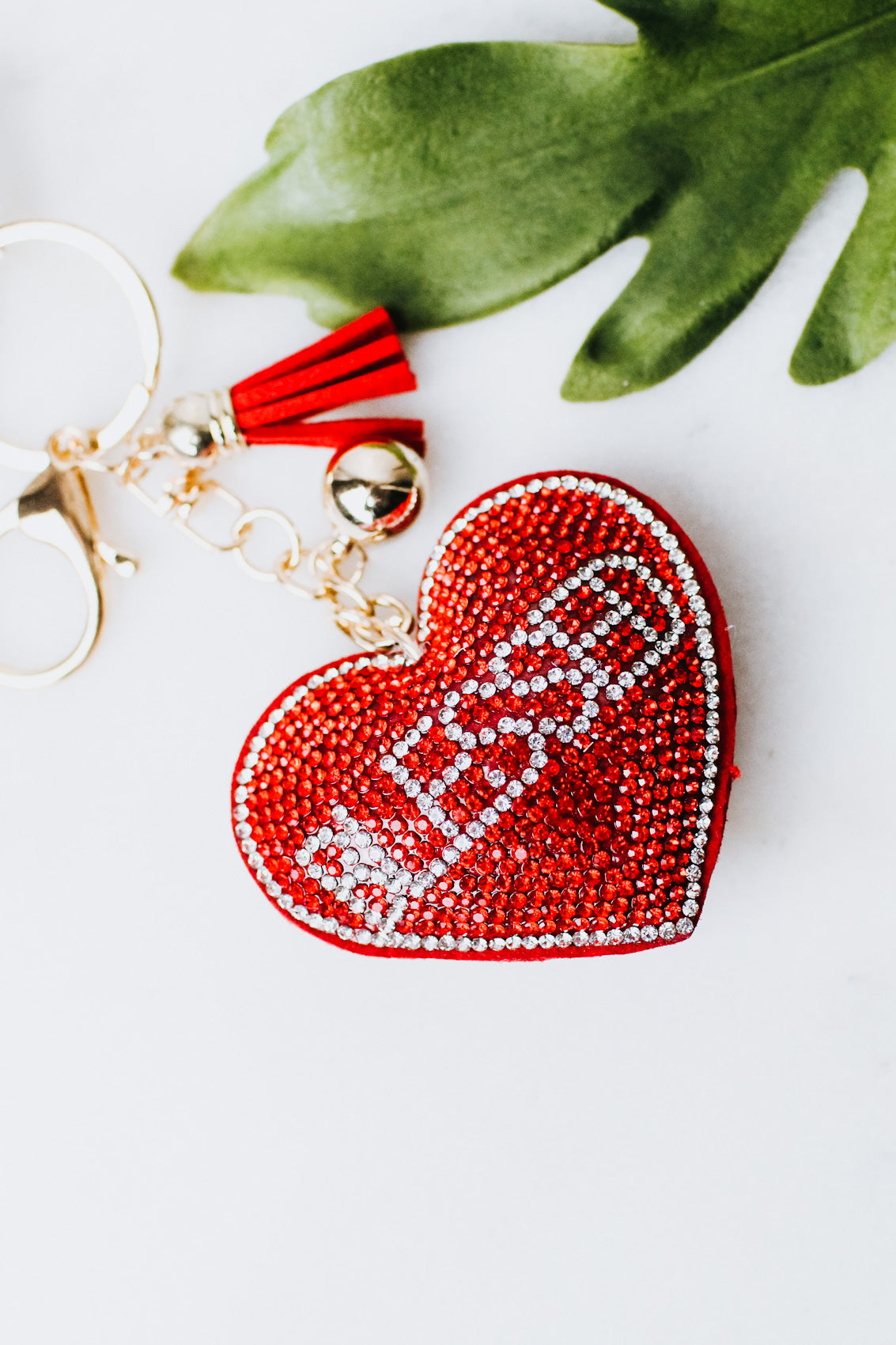 Blessed Heart Keychain