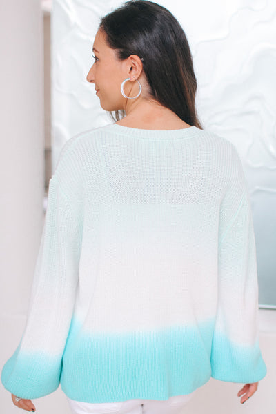 Dip Dye Knit Sweater