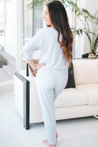 Short Sleeve Button Front Jogger Jumpsuit