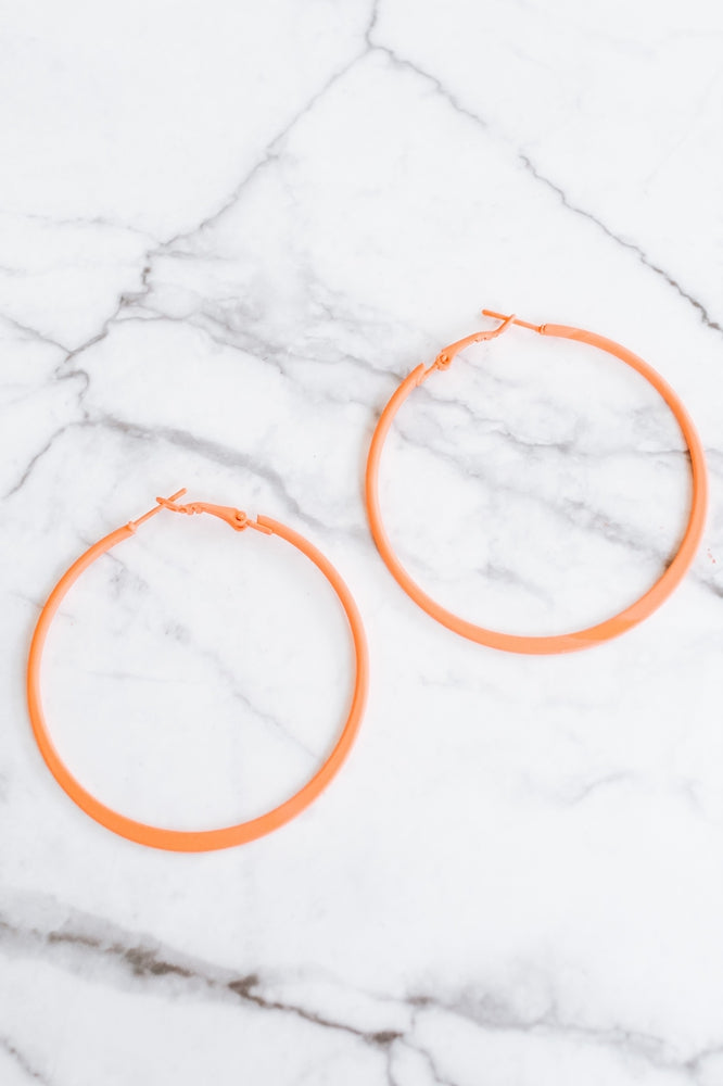 Plain Matte Hoop-Glitz & Ears Boutique