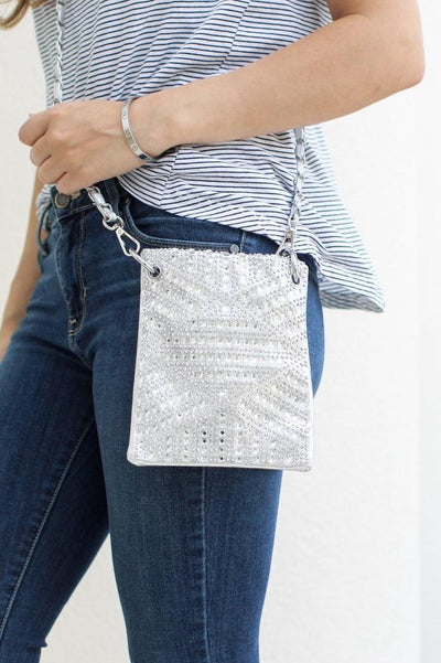 Diamond Design Small Messenger - Glitz & Ears