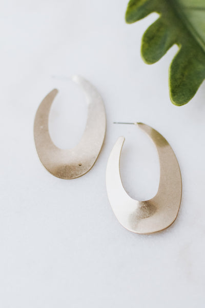 Curved Brush Open End Oval Hoop