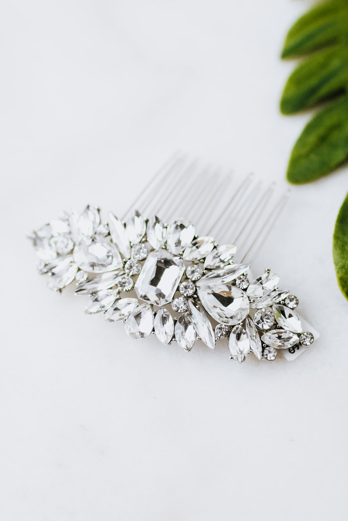 Scatter Multi Stone Hair Comb