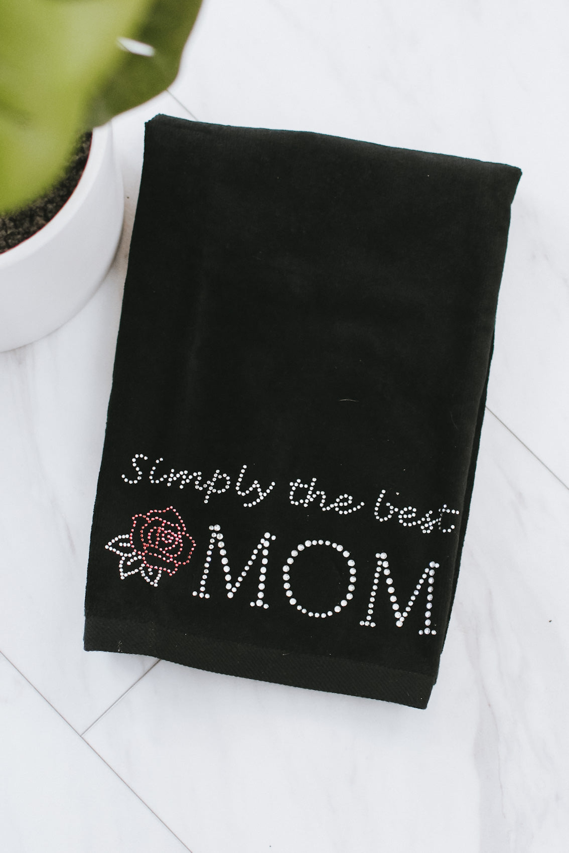 Simply the Best Mom Towel