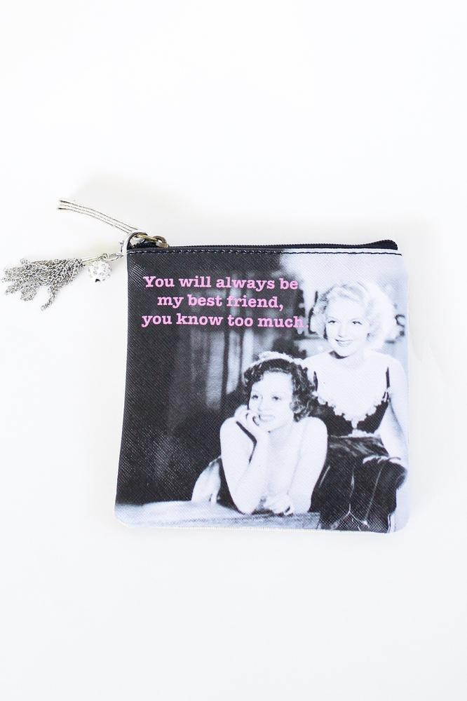 Bestfriend Coin Purse - Glitz & Ears