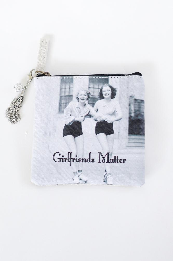 Girlfriends Matter Coin Purse - Glitz & Ears