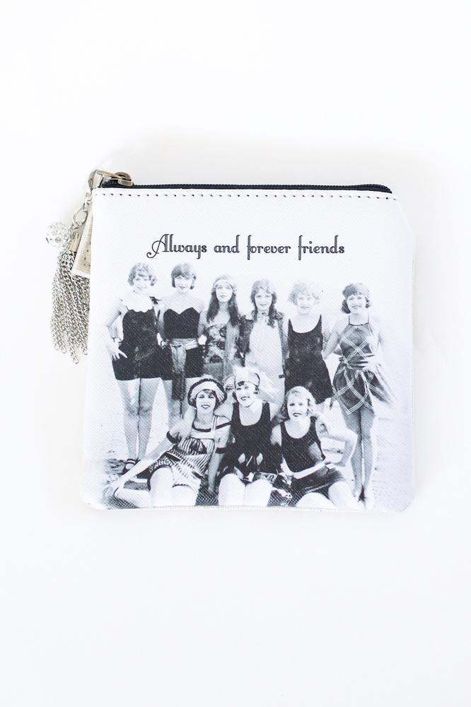Always & Forever Friends Coin Purse - Glitz & Ears
