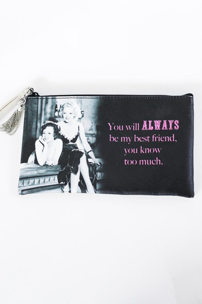 Bestfriend Wristlet/Makeup Bag - Glitz & Ears