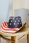 Star Top & Stripe Cowboy Hat