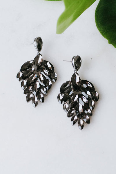 Staggered Almond Chandelier Earring
