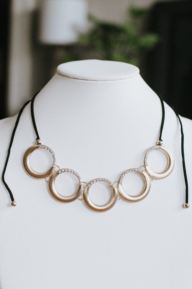5 Open Circle Necklace