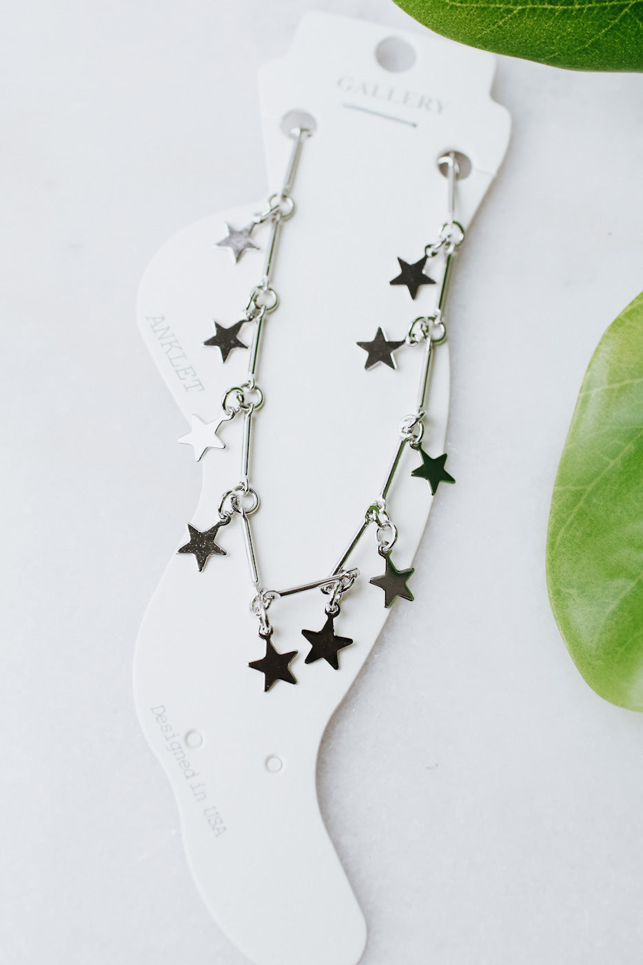 Metal Star Anklet