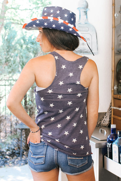 Red, White & Booze Star Racerback Tank (Sale)