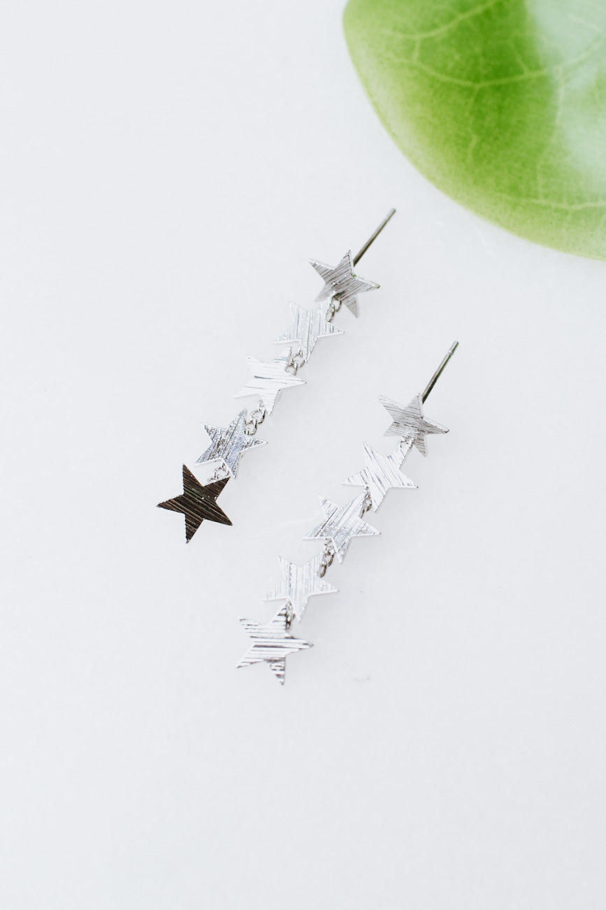 Textured Star Dangle