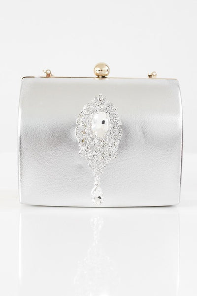 Brooch Center Arched Clutch - Glitz & Ears