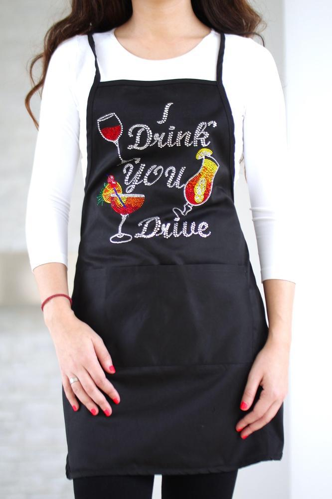 I Drink You Drive Apron - Glitz & Ears