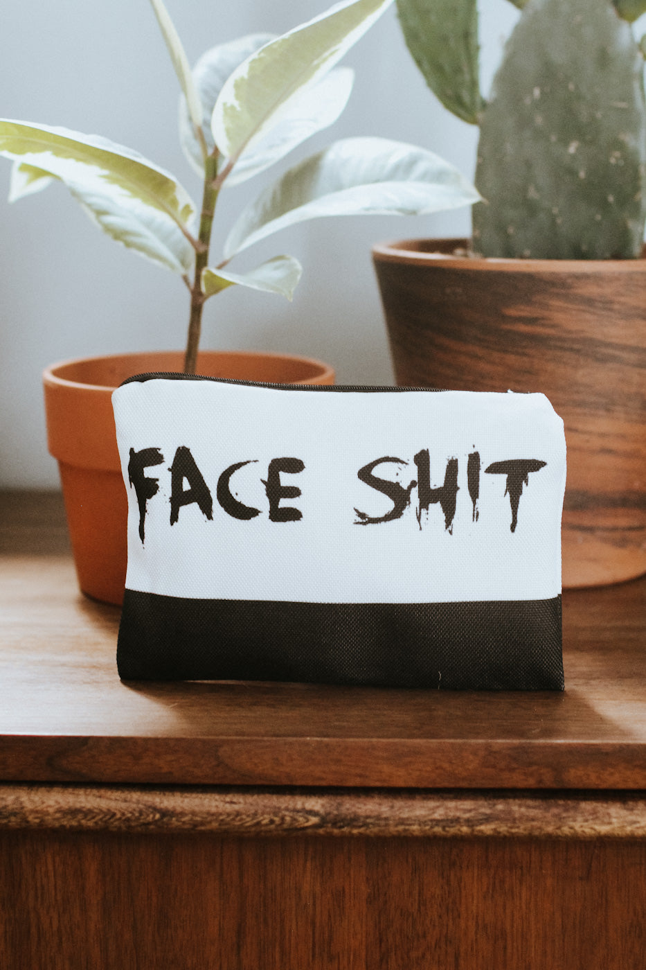 Face Sh*t Make Up Bag