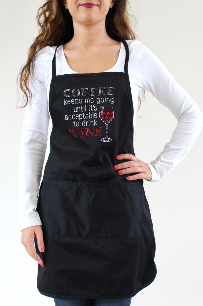 Coffee Keeps Me Going Apron - Glitz & Ears