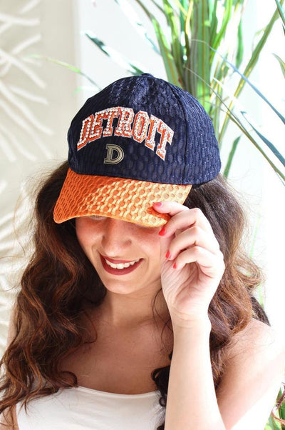Detroit D Hat - Glitz & Ears