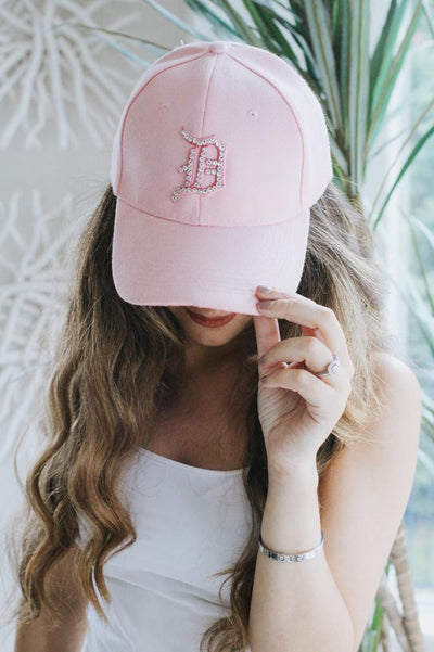Detroit D Baseball Hat - Glitz & Ears