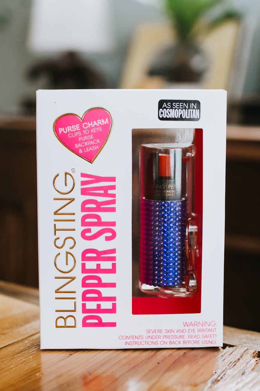 Rhinestone Pepper Spray