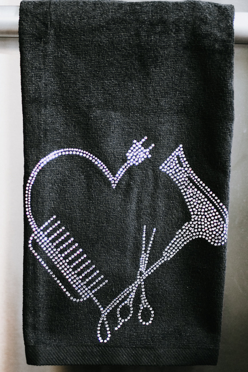 Comb & Blow Dryer Towel