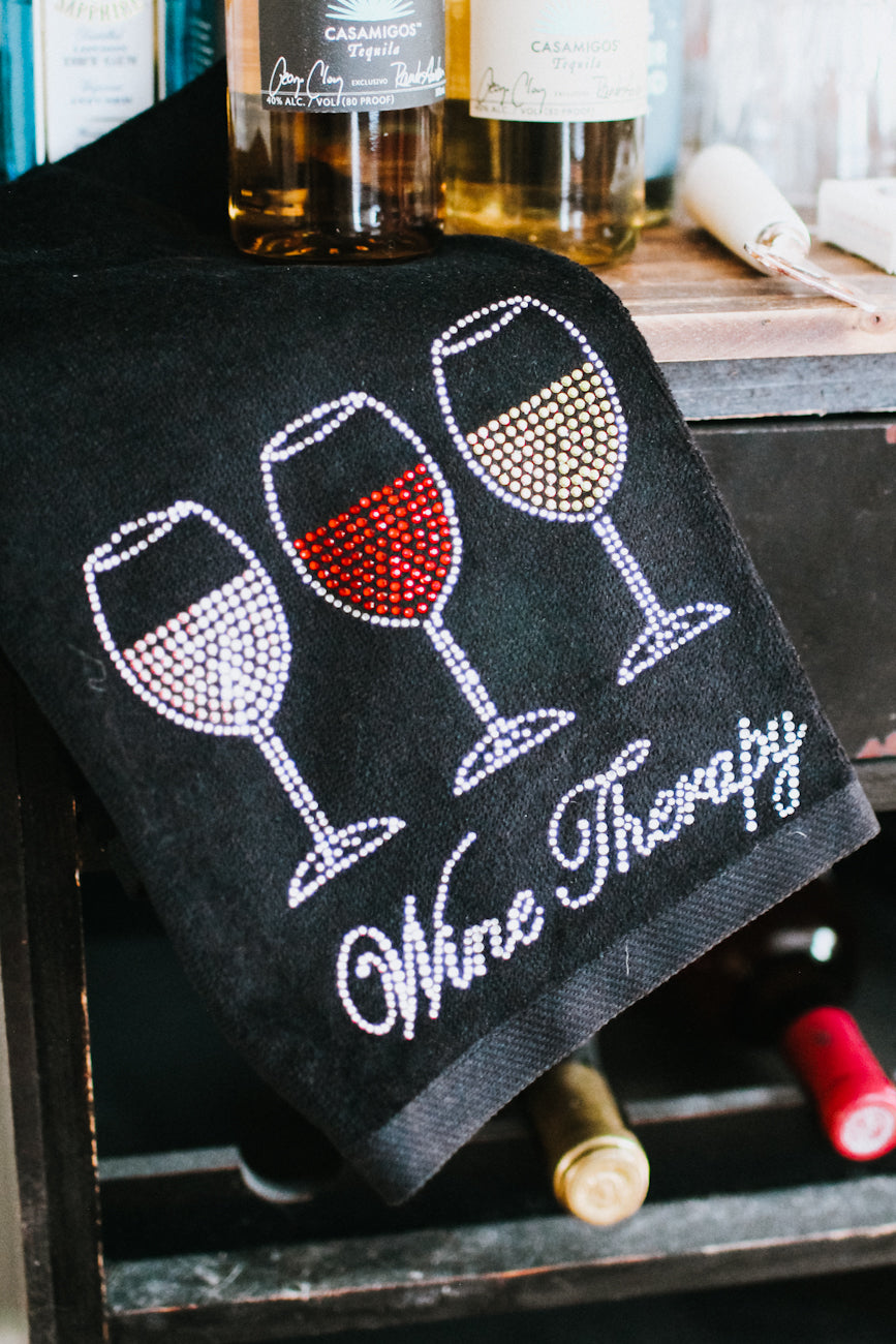 Wine Therapy Towel