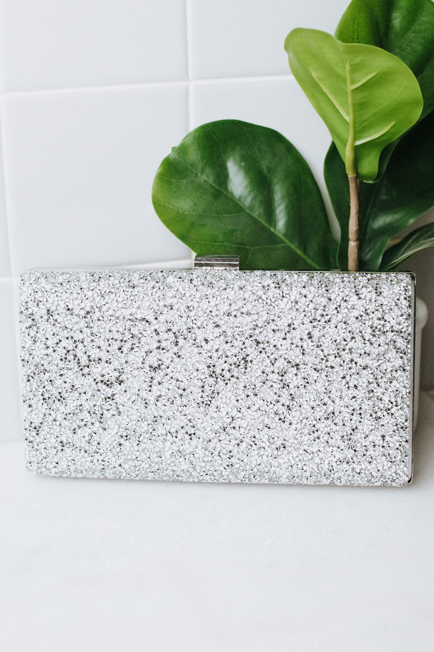 All Crushed Stone Front Hardcase Clutch