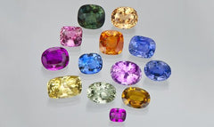 Fancy Coloured Sapphires