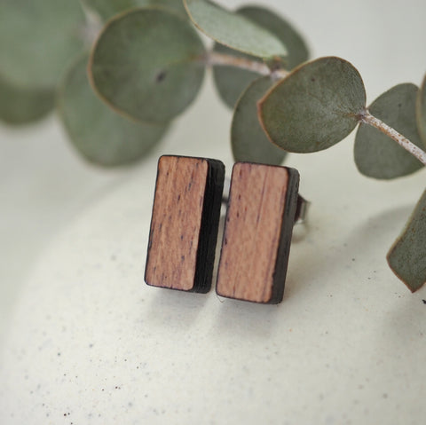Asgard Peak Earrings - Bloodwood