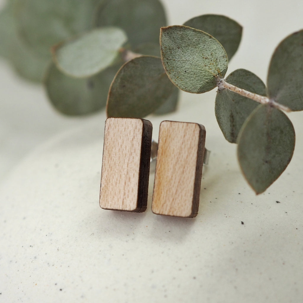 Asgard Peak Earrings - Maple