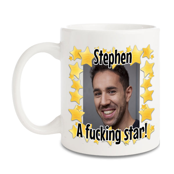Personalised Photo and Text Mugs