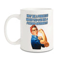 Why be a princess when you can be a fucking warrior?! Ceramic mug