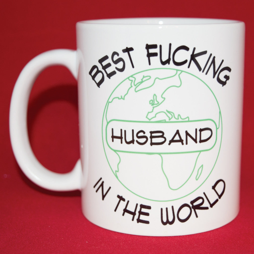 Best Fucking Husband In The World Mug Phuckadoodledoo