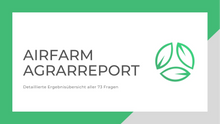 Load image into Gallery viewer, Airfarm Agrarreport 2021 - Detailed analysis