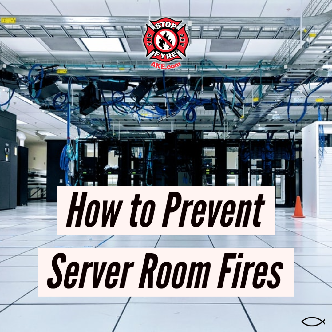 How to Prevent Server Room Fires