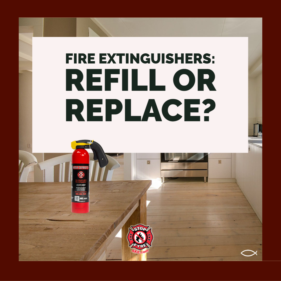 Fire Extinguishers: Refill or Replace?
