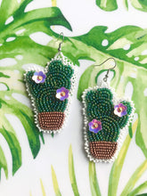 Load image into Gallery viewer, Cactus Earrings