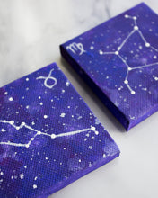 Load image into Gallery viewer, Mini Zodiac Sign Constellation Paintings