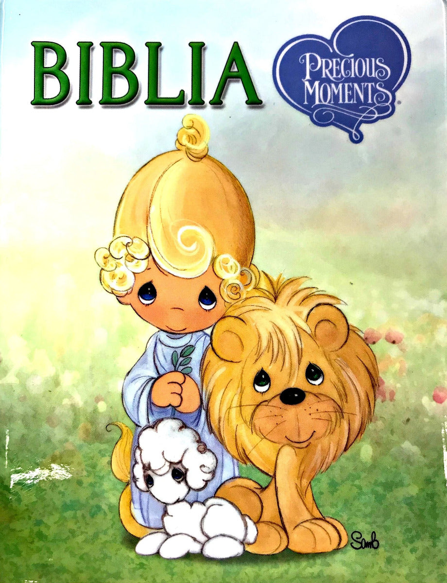 Biblia RVR60 Precious Moments | Biblias para niños | Life Gift Group