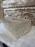 Vintage Acrylic Lucite Tissue box holder
