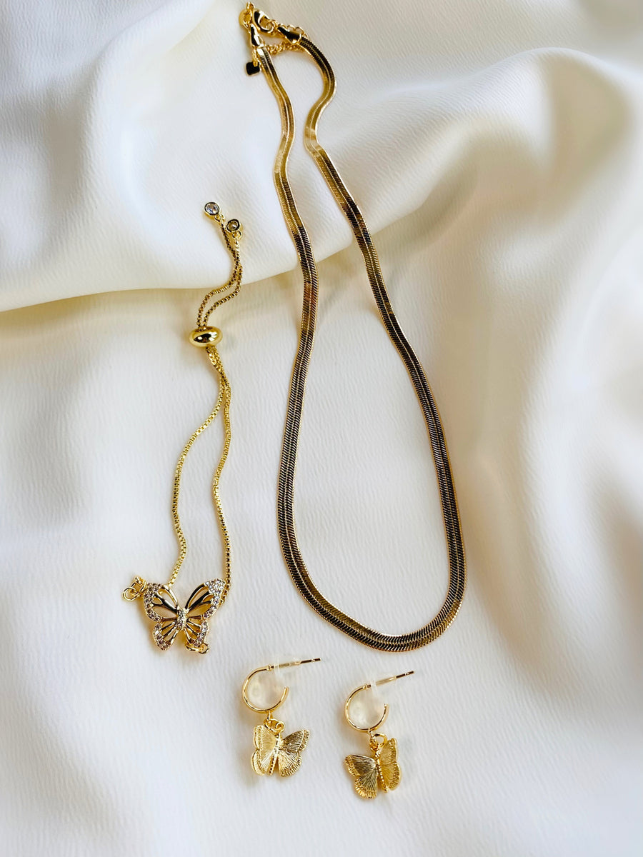 BRANDI dainty butterfly earrings